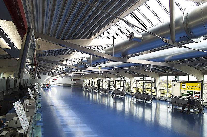 Terminalerweiterung flughafen berlin tegel for Flughafen tegel